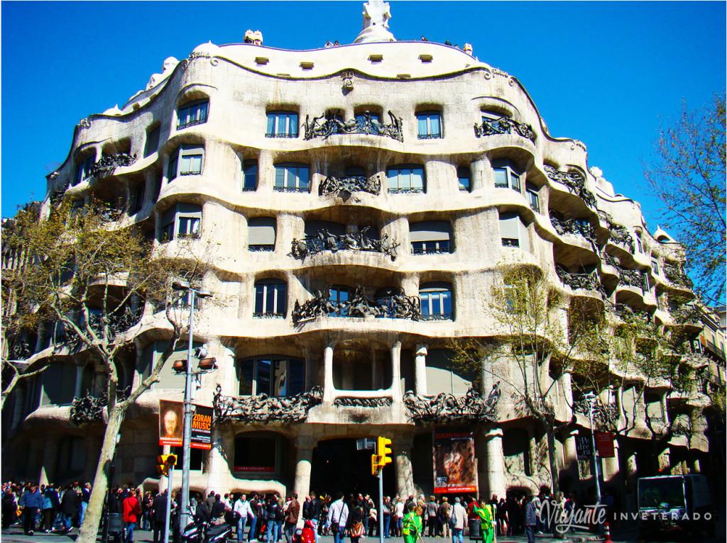 A cidade de Gaudí (Barcelona, Espanha)