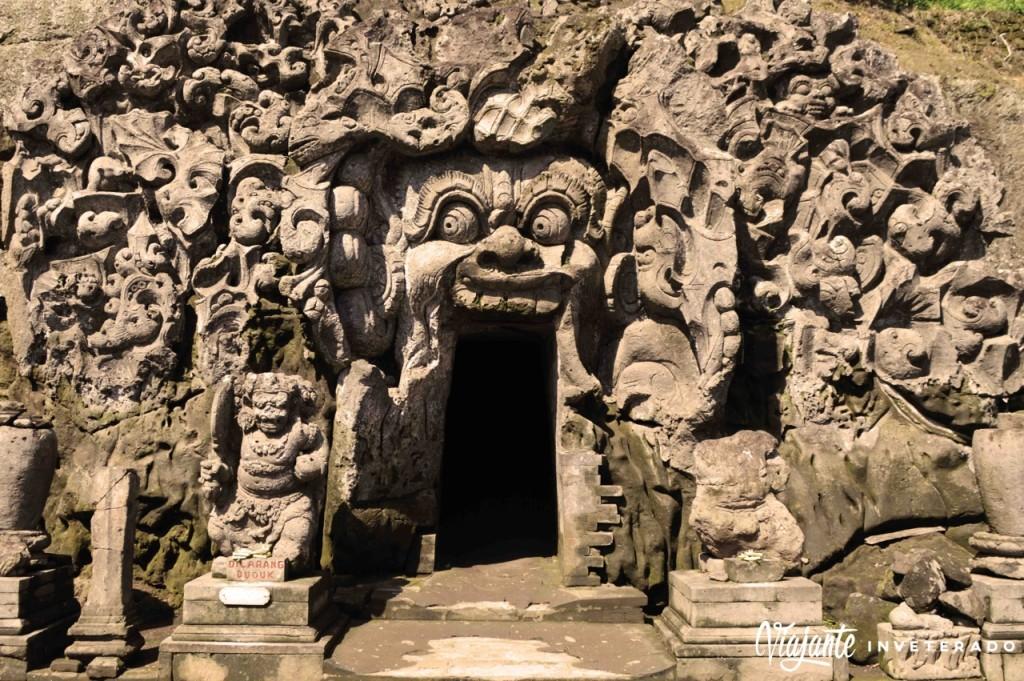 goa gajah - templos de bali