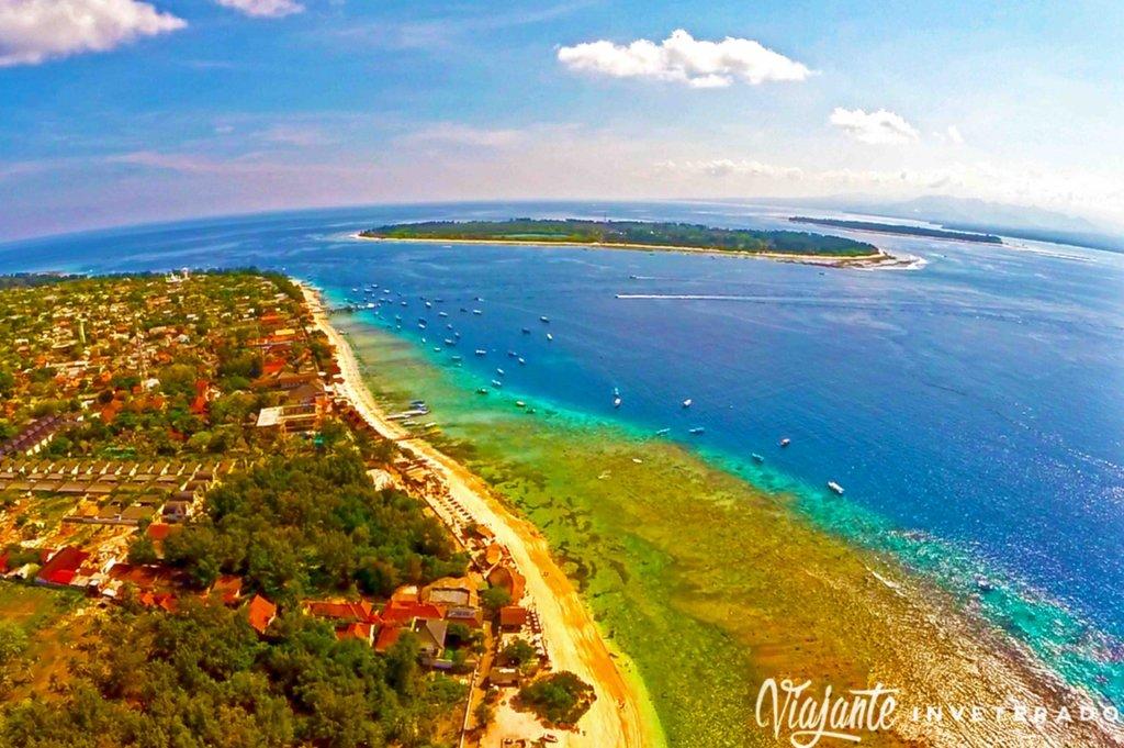 qual é a melhor ilha Gili