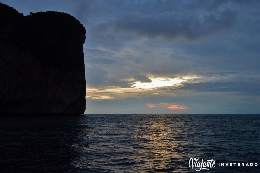 por do sol tailandia