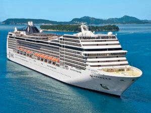 cruzeiro msc volta ao mundo de navio