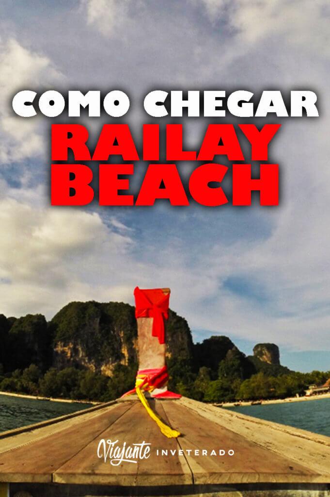 como chegar em railay beach