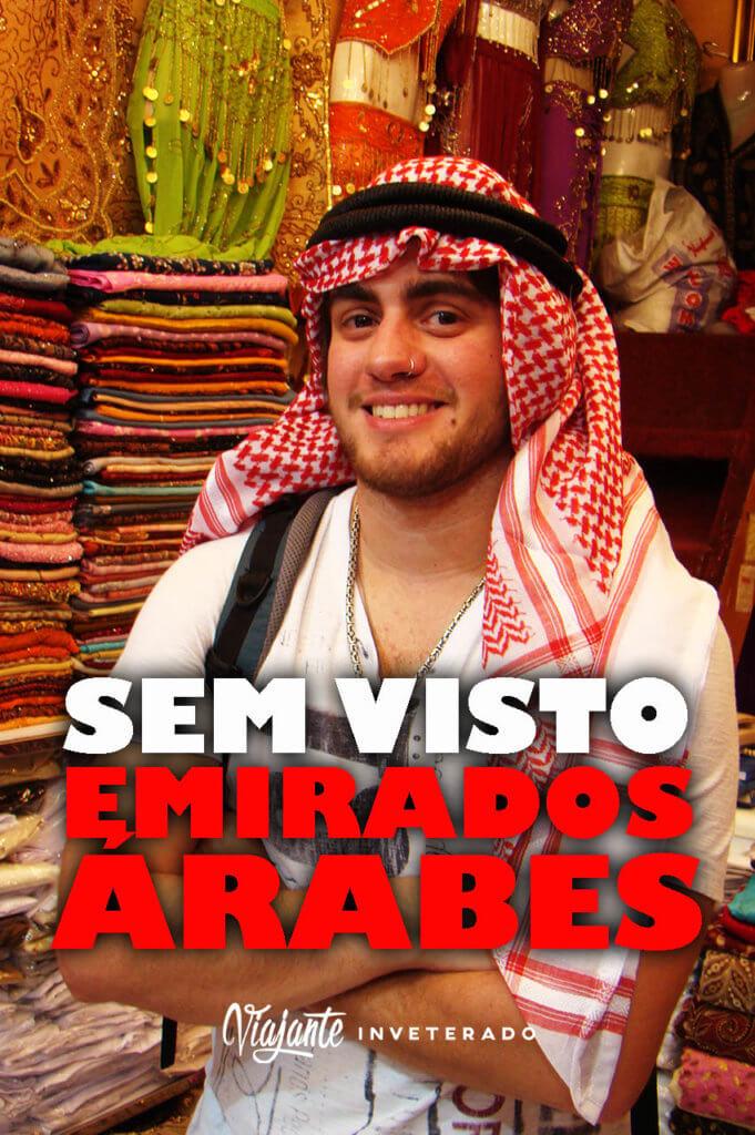 PINTEREST VISTO PARA OS EMIRADOS ARABES