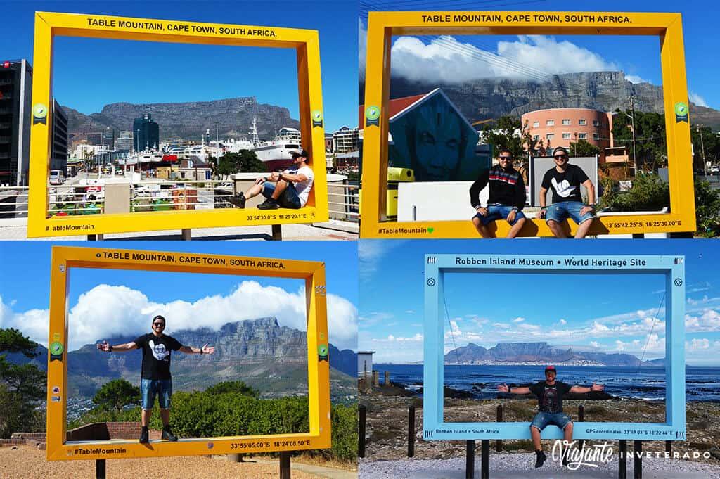 table mountain cape town frames