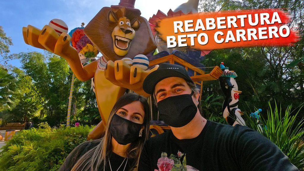 Reabertura do Beto Carrero: o uso máscaras é obrigatório
